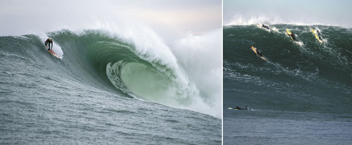 Surf Photography at Mavericks